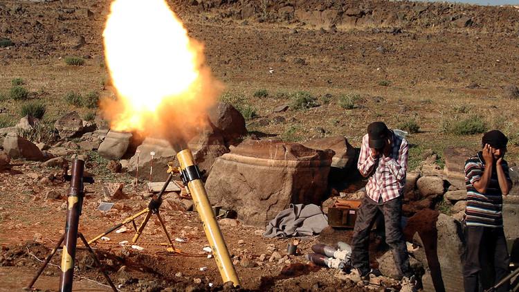 Rebeldes afirman haber derribado un avión sirio cerca de la zona de cese del fuego