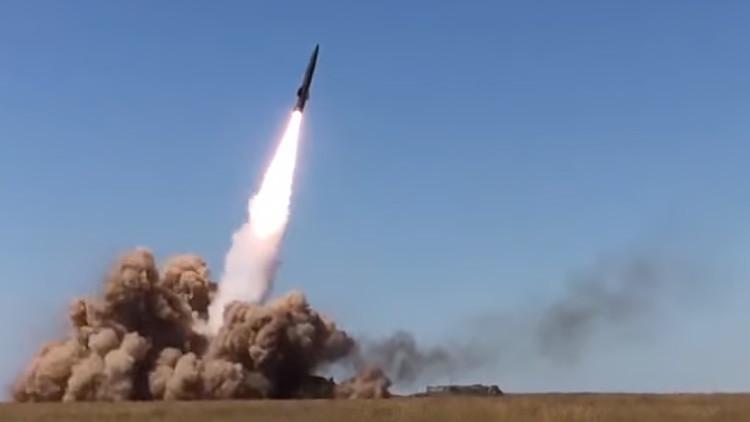 Tochka-U en acción: Lanzamiento del sistema de misiles tácticos ruso (VIDEO)