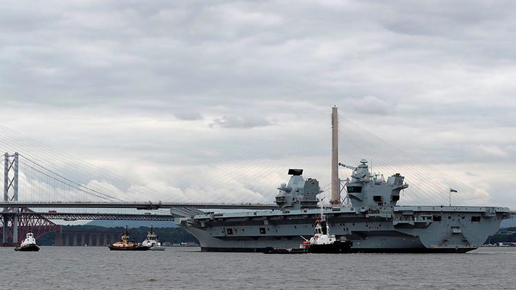¿Cómo el mejor portaviones británico podría ser hundido por misiles baratos?
