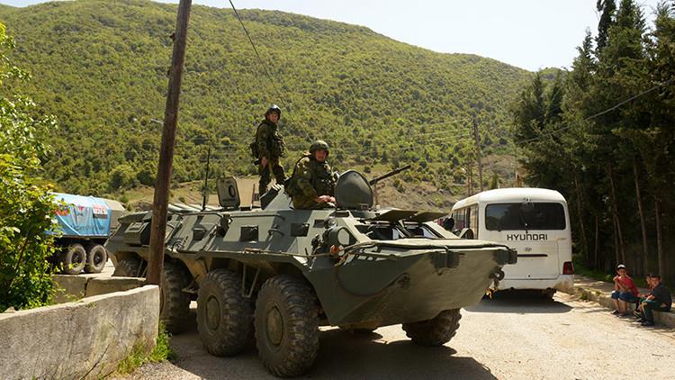 Un asesor militar ruso muere durante un ataque en Siria
