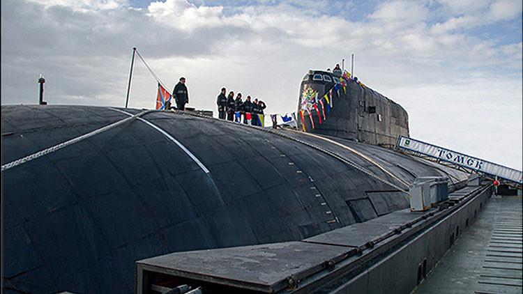 VIDEO: El submarino 'campeón' de la Armada de Rusia lanza un misil en inmersión