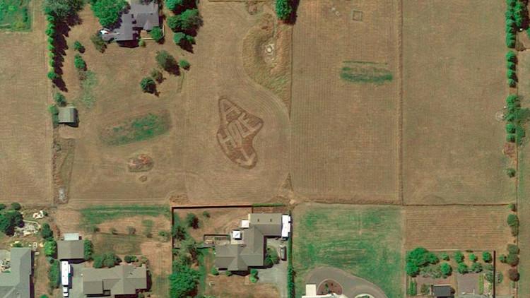 Google Earth deja al descubierto una pequeña venganza