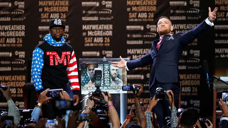 FOTO: El mensaje oculto e insultante a Mayweather que esconde la indumentaria de McGregor