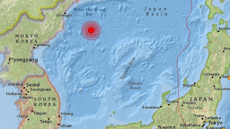 Se registra un sismo de magnitud 5,8 en Corea del Norte