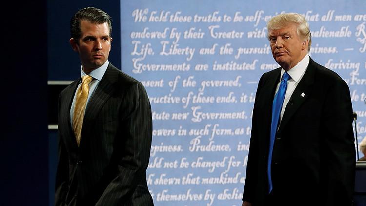 Trump asegura que no sabía que su hijo se encontró con la abogada rusa