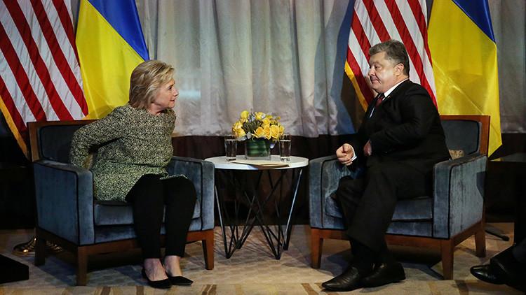 """Acusan a Ucrania de ofrecer a los demócratas información que pudiera """"dañar"""" a Trump"""