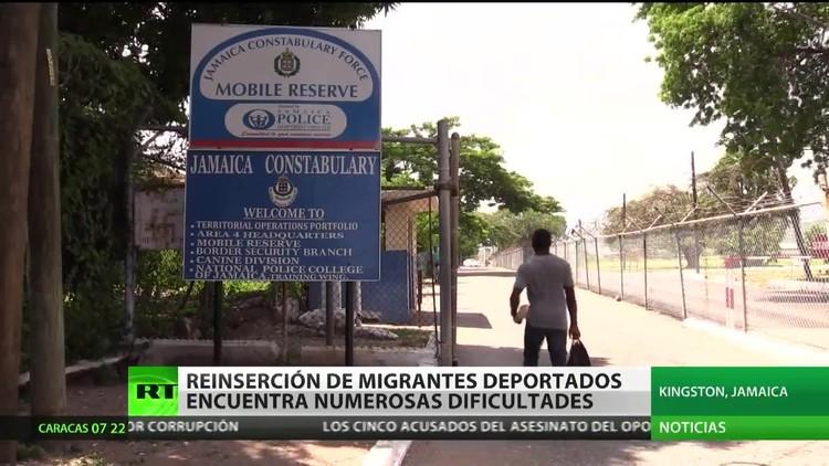 Deportados a Jamaica: La vida de los migrantes se llena de dificultades al regresar