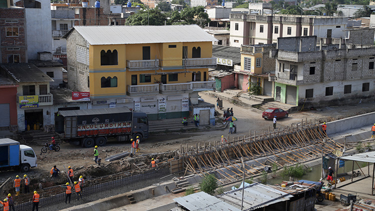 Ecuador detuvo construcción de muro en la frontera con Perú