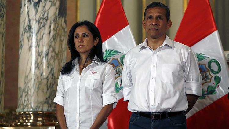 Perú: Condenan al expresidente Ollanta Humala y a su esposa a 18 meses de prisión preventiva
