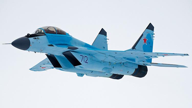 Rusia iniciará la producción del avanzado caza MiG-35 en 2019