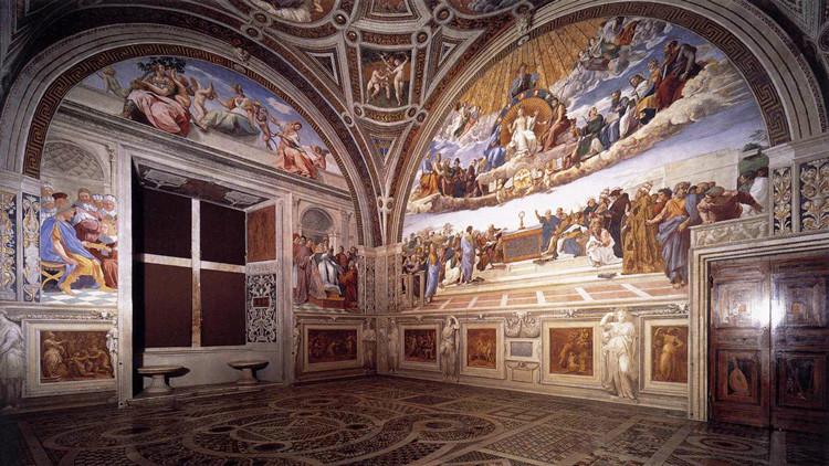 Una restauración de los frescos del Vaticano revela dos obras de Rafael de hace 500 años