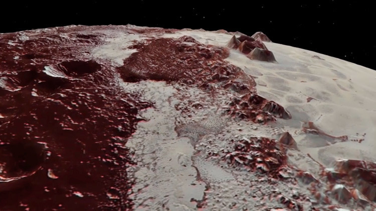 VIDEOS: La NASA revela majestuosas montañas y planicies heladas de Plutón