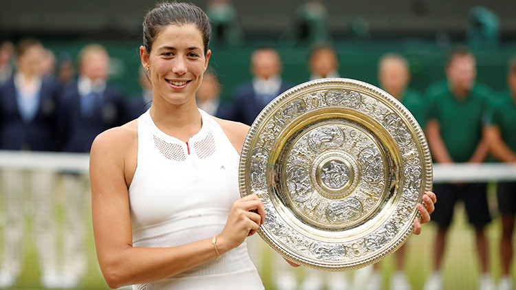 La hispanovenezolana Muguruza gana la final de Wimbledon