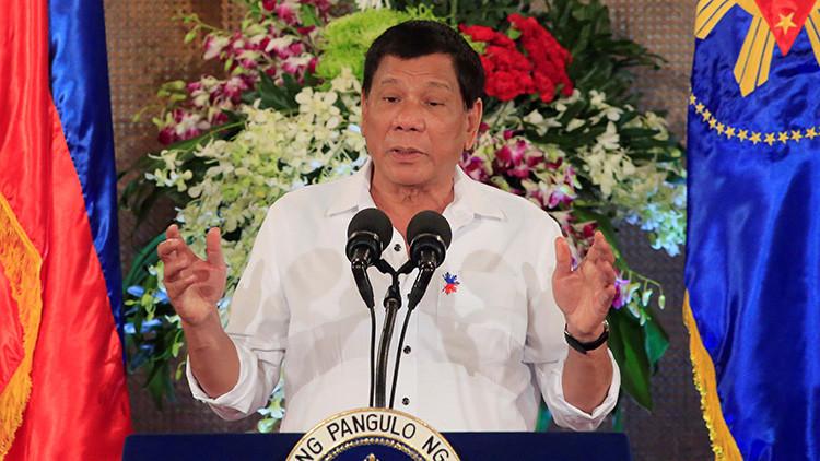 """Duterte """"felicitaría"""" a los criminales que violen a una Miss Universo sabiendo que morirán por ello"""