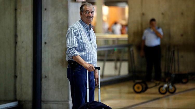 Venezuela declara persona non grata al expresidente mexicano Vicente Fox