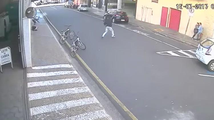 VIDEO: Este osado asalto a una joyería deja un muerto y dos heridos en Brasil