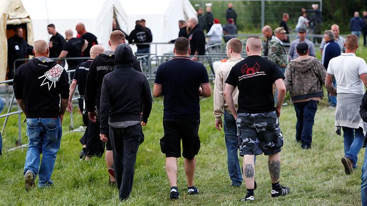 6.000 neonazis 'invaden' un pueblo alemán de 3.000 habitantes para acudir a un polémico festival
