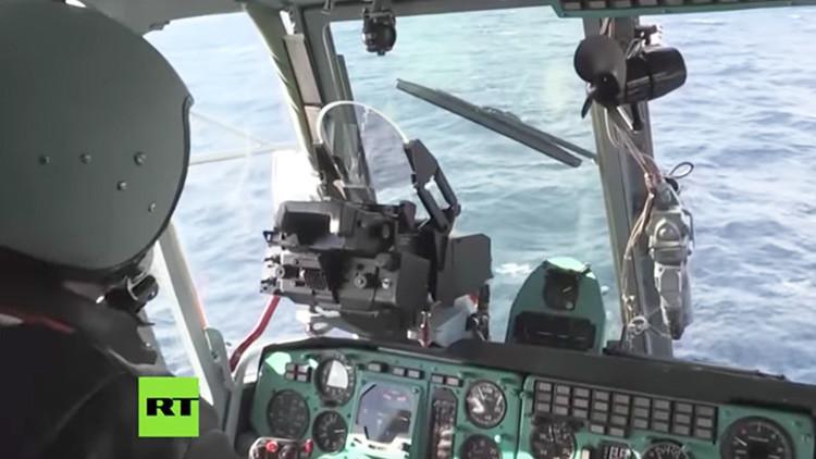 VIDEO: La Marina de Guerra rusa exhibe las destrezas de su Fuerza Aérea