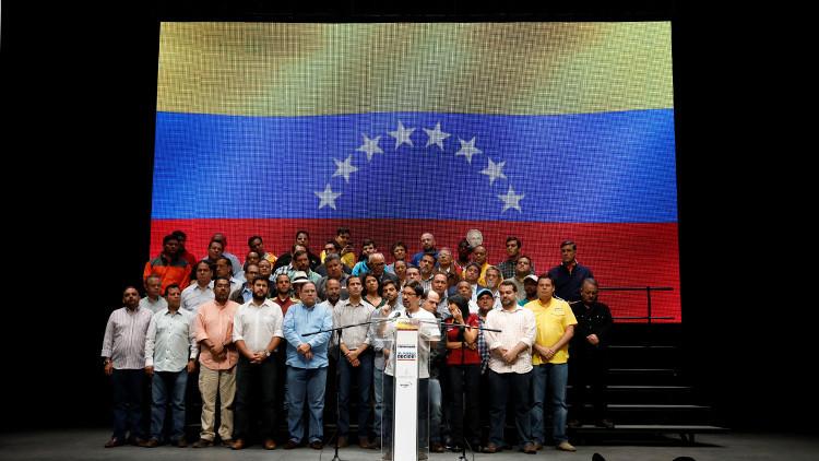 """La oposición venezolana anuncia una """"huelga nacional"""" y la radicalización de la protesta"""