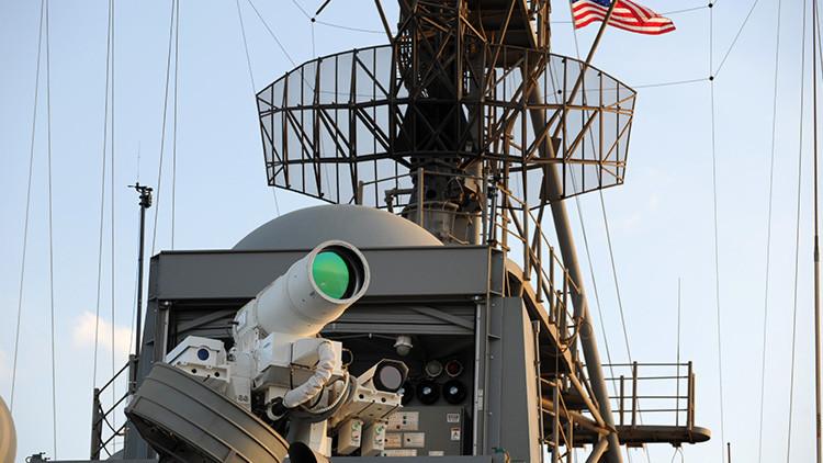 La Armada de EE.UU. prueba en el golfo Pérsico un arma invisible y letal