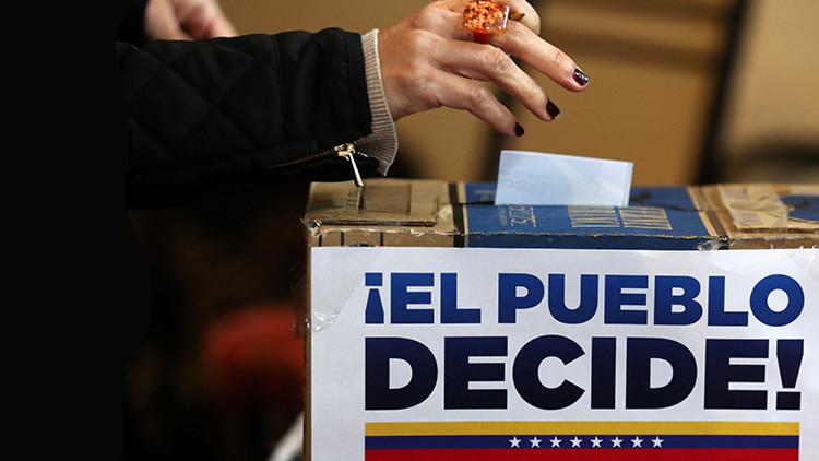 Audio revela el 'maquillaje' de las cifras de plebiscito opositor en Venezuela