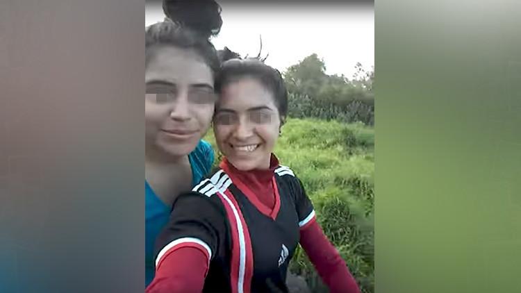 Segundos antes de morir: dos hermanas son aplastadas por un tractor tras hacerse una selfi (VIDEO)