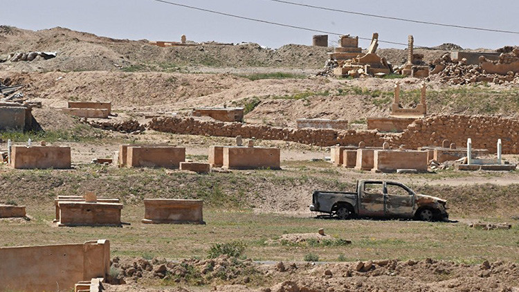 El Estado Islámico minó la antigua ciudad siria de Resafa, la 'segunda Palmira'