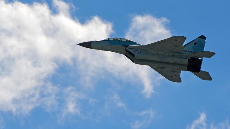 VIDEO: El nuevo MiG-35 debuta en el salón aeroespacial MAKS 2017