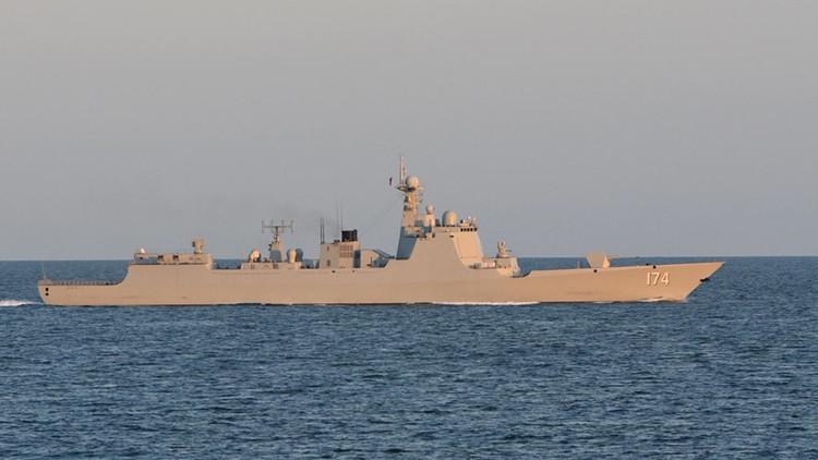 Armadas británica, neerlandesa y danesa escoltan a buques de guerra chinos en el Báltico (fotos)