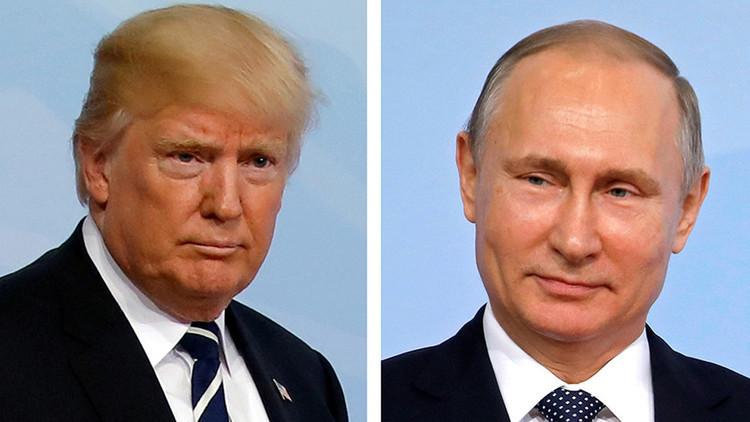 """El Kremlin tacha de """"absurdo"""" afirmar que Putin y Trump se reunieron en secreto"""