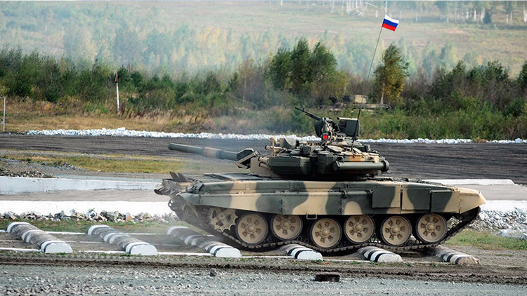 """Irak compra """"un gran lote"""" de tanques rusos T-90"""