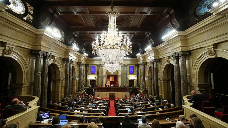 La Guardia Civil entra en el Palau de la Generalitat y el Parlament de Cataluña por la trama del 3%