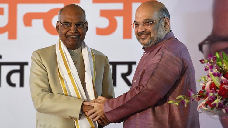 Un 'intocable' se convierte en el nuevo presidente de la India