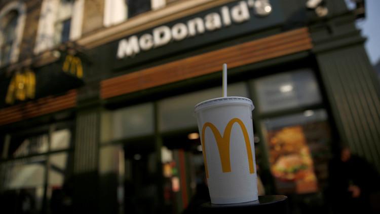 Detectan bacterias fecales en restaurantes de McDonald's, KFC y Burger King del Reino Unido