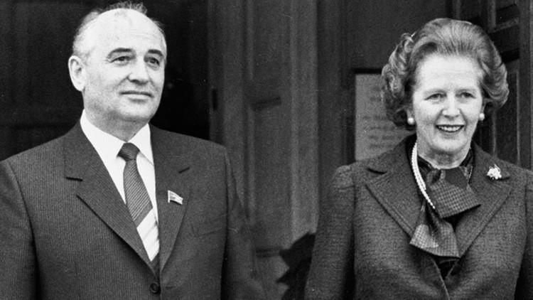 Un magnate mediático británico pidió a Thatcher prestar 20.000 millones para salvar a la URSS