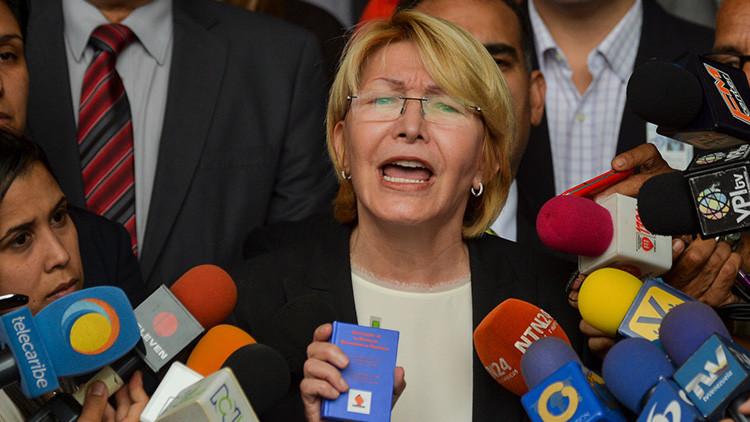 """¿A qué """"amenazas"""" se refiere la fiscal general de Venezuela?"""