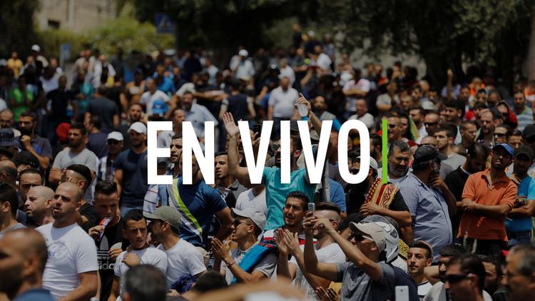 Sube tensión en Jerusalén por protestas de palestinos