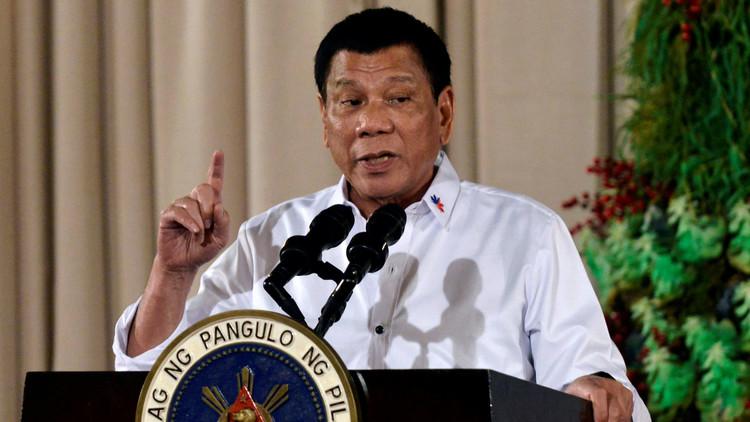 """Duterte anuncia que nunca iría de visita al """"repugnante EE.UU."""""""