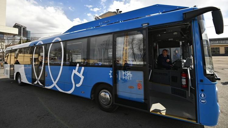 Moscú se pasará a los autobuses eléctricos dentro tres años