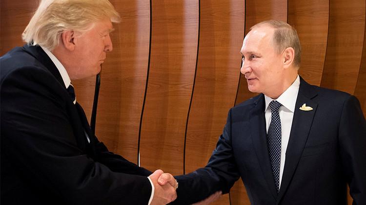 """Lavrov, sobre las reuniones 'secretas' de Putin y Trump: """"Es posible que fueran al baño juntos"""""""