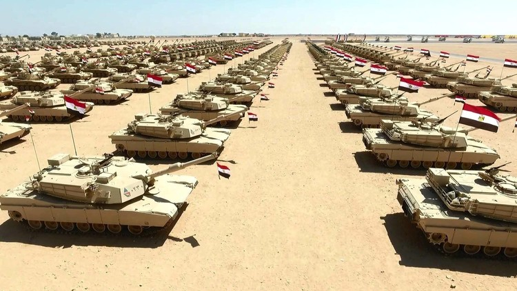 Egipto abre la base militar más grande de Oriente Medio y África (FOTOS Y VIDEOS)