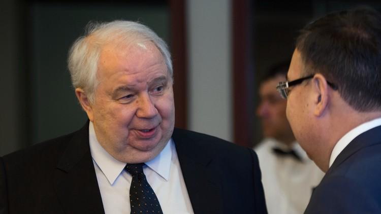 El embajador ruso Serguéi Kisliak concluye su misión diplomática en Washington