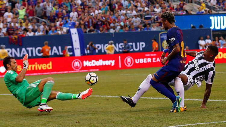 El Barcelona vence a la Juventus en un partido amistoso en EE.UU.