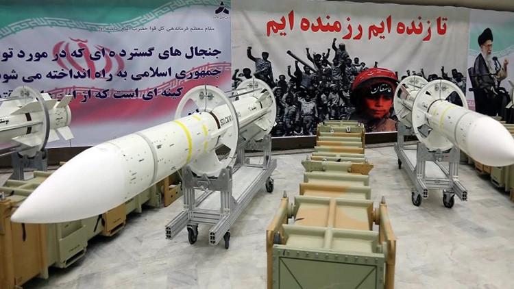 Irán lanza una línea de producción de un nuevo misil en medio de tensiones con EE.UU.