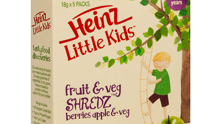 """""""No es fruta, sino confitería"""": Acusan a Heinz de ocultar el contenido real de un producto de bebés"""