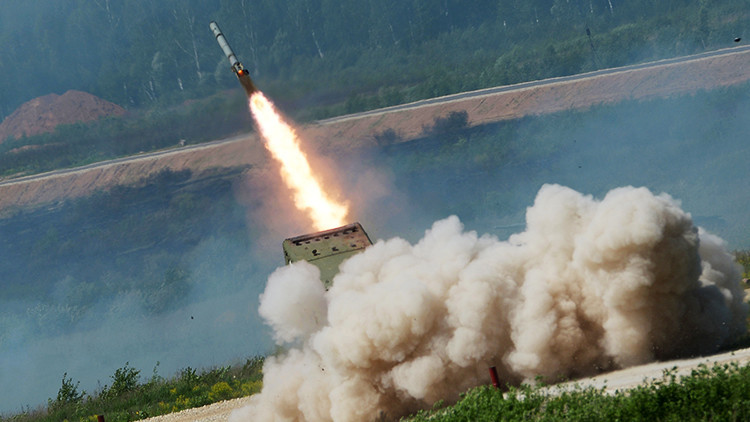 Rusia lanza al mercado un sistema de 'fuego infernal' adaptado para el combate en desierto