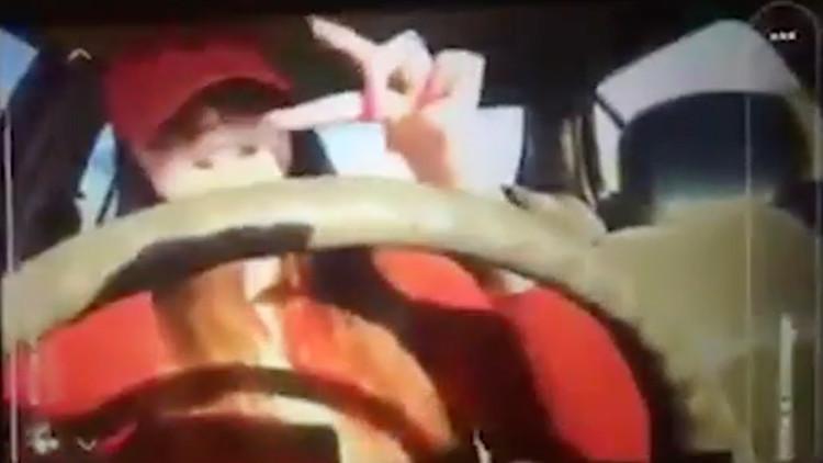 FUERTES IMÁGENES: Una conductora transmite en vivo el accidente de tráfico que mató a su hermana