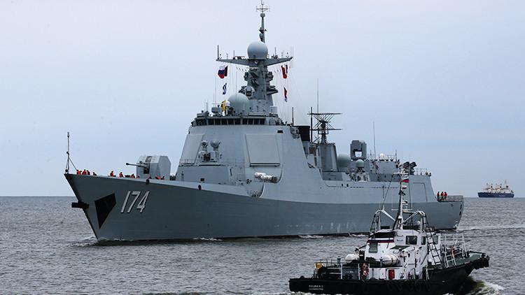 Rusia y China comienzan las maniobras militares navales conjuntas