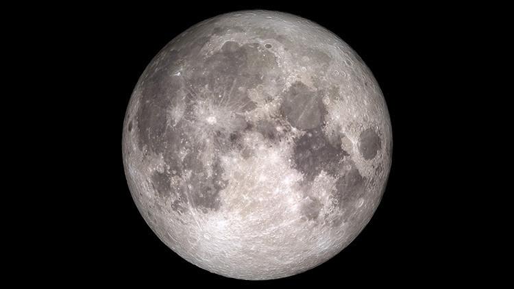 Luna llena... ¿de agua? Los científicos se replantean la teoría sobre su origen