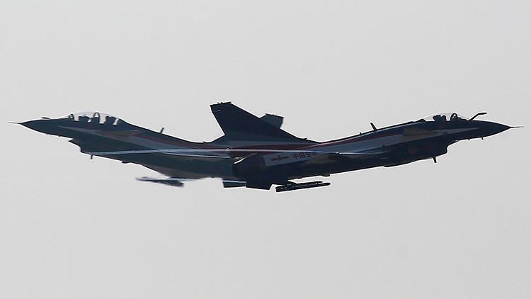 Cazas chinos detectan a avión espía de EU ¡y casi lo chocan!